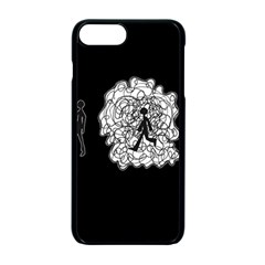 Drawing  Apple Iphone 7 Plus Seamless Case (black)