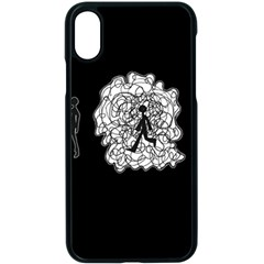 Drawing  Apple Iphone X Seamless Case (black)