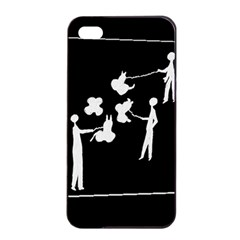 Drawing  Apple Iphone 4/4s Seamless Case (black)