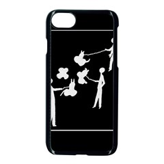 Drawing  Apple Iphone 8 Seamless Case (black)