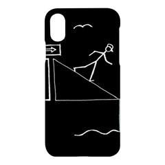 Drawing Apple Iphone X Hardshell Case by ValentinaDesign