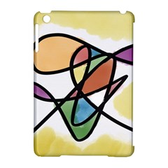 Abstract Art Colorful Apple Ipad Mini Hardshell Case (compatible With Smart Cover) by Modern2018