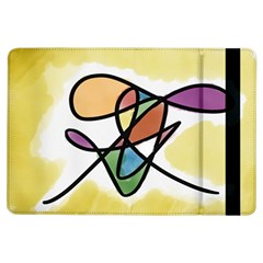 Abstract Art Colorful Ipad Air Flip by Modern2018