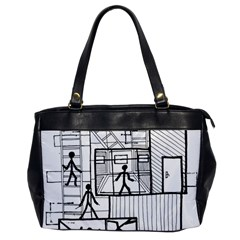 Drawing Office Handbags by ValentinaDesign