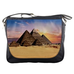 Ancient Archeology Architecture Messenger Bags