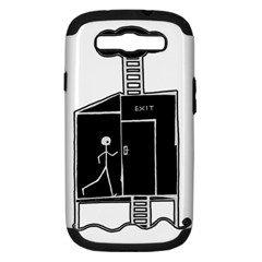 Drawing Samsung Galaxy S Iii Hardshell Case (pc+silicone) by ValentinaDesign