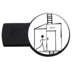 Drawing Usb Flash Drive Round (4 Gb) by ValentinaDesign