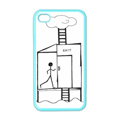 Drawing Apple Iphone 4 Case (color) by ValentinaDesign
