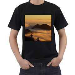 Homberg Clouds Selva Marine Men s T Shirt (black)