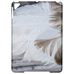 Feather Brown Gray White Natural Photography Elegant Apple Ipad Pro 9 7   Hardshell Case