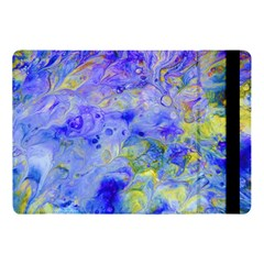 Abstract Blue Texture Pattern Apple Ipad Pro 10 5   Flip Case by Simbadda