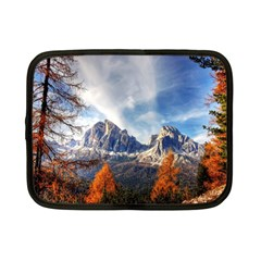 Dolomites Mountains Italy Alpine Netbook Case (small)