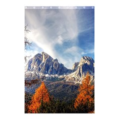 Dolomites Mountains Italy Alpine Shower Curtain 48  X 72  (small)  by Simbadda