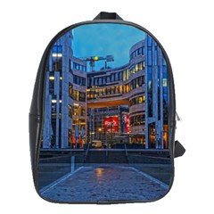 Architecture Modern Building School Bag (large) by Simbadda