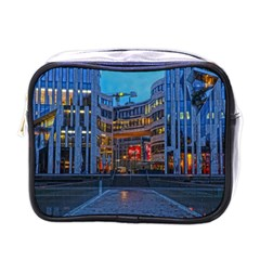 Architecture Modern Building Mini Toiletries Bags