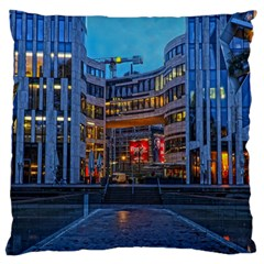 Architecture Modern Building Large Flano Cushion Case (two Sides)