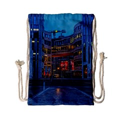 Architecture Modern Building Drawstring Bag (small)