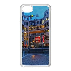 Architecture Modern Building Apple Iphone 8 Seamless Case (white)