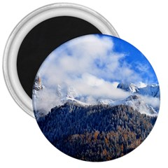 Mountains Alpine Nature Dolomites 3  Magnets
