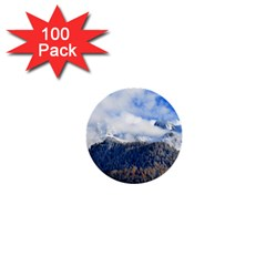 Mountains Alpine Nature Dolomites 1  Mini Buttons (100 Pack)