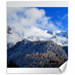 Mountains Alpine Nature Dolomites Canvas 20  X 24