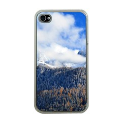 Mountains Alpine Nature Dolomites Apple Iphone 4 Case (clear)