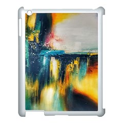 Art Painting Abstract Yangon Apple Ipad 3/4 Case (white)