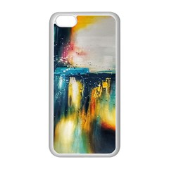 Art Painting Abstract Yangon Apple Iphone 5c Seamless Case (white)