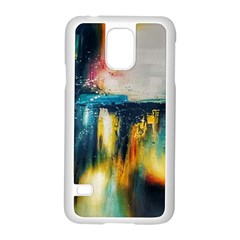 Art Painting Abstract Yangon Samsung Galaxy S5 Case (white)
