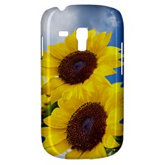 Sunflower Floral Yellow Blue Sky Flowers Photography Galaxy S3 Mini