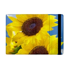 Sunflower Floral Yellow Blue Sky Flowers Photography Ipad Mini 2 Flip Cases by yoursparklingshop