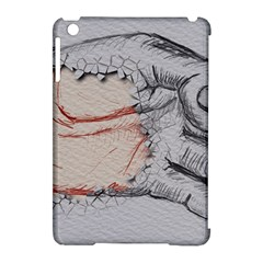 Hand Finger Drawing Fingernails Apple Ipad Mini Hardshell Case (compatible With Smart Cover)