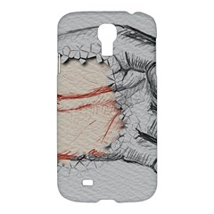 Hand Finger Drawing Fingernails Samsung Galaxy S4 I9500/i9505 Hardshell Case