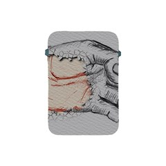 Hand Finger Drawing Fingernails Apple Ipad Mini Protective Soft Cases