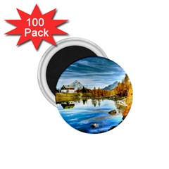 Dolomites Mountains Italy Alpin 1 75  Magnets (100 Pack)  by Simbadda
