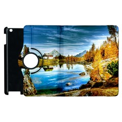 Dolomites Mountains Italy Alpin Apple Ipad 2 Flip 360 Case