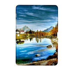 Dolomites Mountains Italy Alpin Samsung Galaxy Tab 2 (10 1 ) P5100 Hardshell Case