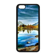 Dolomites Mountains Italy Alpin Apple Iphone 5c Seamless Case (black)