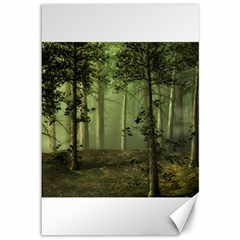 Forest Tree Landscape Canvas 12  X 18