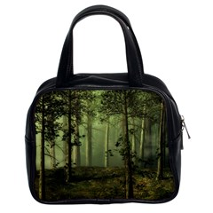 Forest Tree Landscape Classic Handbags (2 Sides)