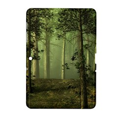 Forest Tree Landscape Samsung Galaxy Tab 2 (10 1 ) P5100 Hardshell Case  by Simbadda
