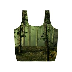 Forest Tree Landscape Full Print Recycle Bags (s)