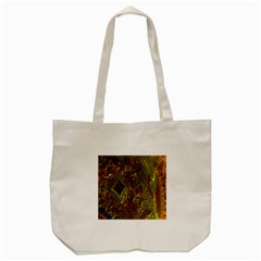 Fractal Virtual Abstract Tote Bag (cream)
