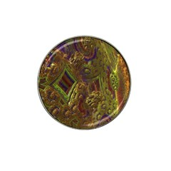 Fractal Virtual Abstract Hat Clip Ball Marker
