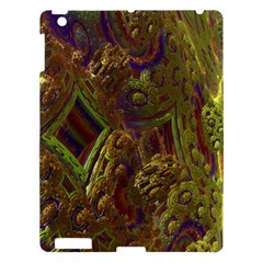 Fractal Virtual Abstract Apple Ipad 3/4 Hardshell Case by Simbadda