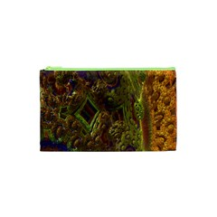 Fractal Virtual Abstract Cosmetic Bag (xs)