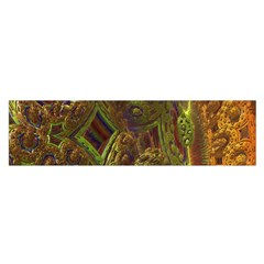 Fractal Virtual Abstract Satin Scarf (oblong)