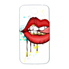 Bit Your Tongue Samsung Galaxy S4 I9500/i9505  Hardshell Back Case by StarvingArtisan