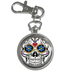 Cranium Sugar Skull Key Chain Watches