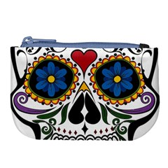 Cranium Sugar Skull Large Coin Purse by StarvingArtisan